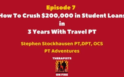 How To Crush $200,000 in Student Loans in 3 Years With Travel PT